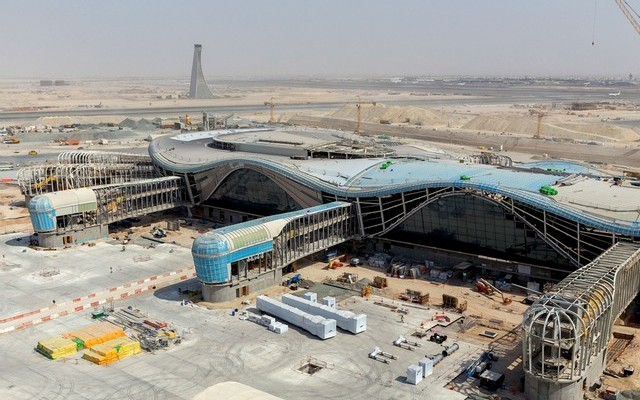 The whole Midfield Terminal Building project is expected to be 70 per cent complete by the end of 2015.