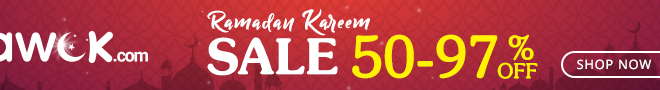 Awok Ramadan Kareem Sale 50 to 97% OFF on Electronics and Home Appliances!! Limited Time Period